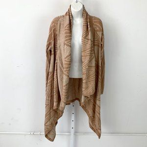 Moth Anthropologie Cafe Cardigan Open Drape Duster
